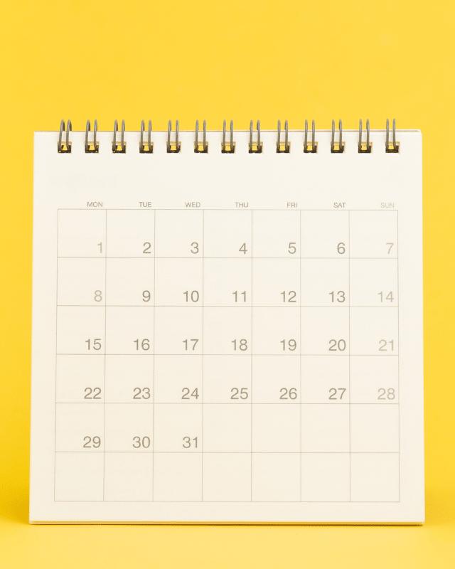 Desk Calendars header