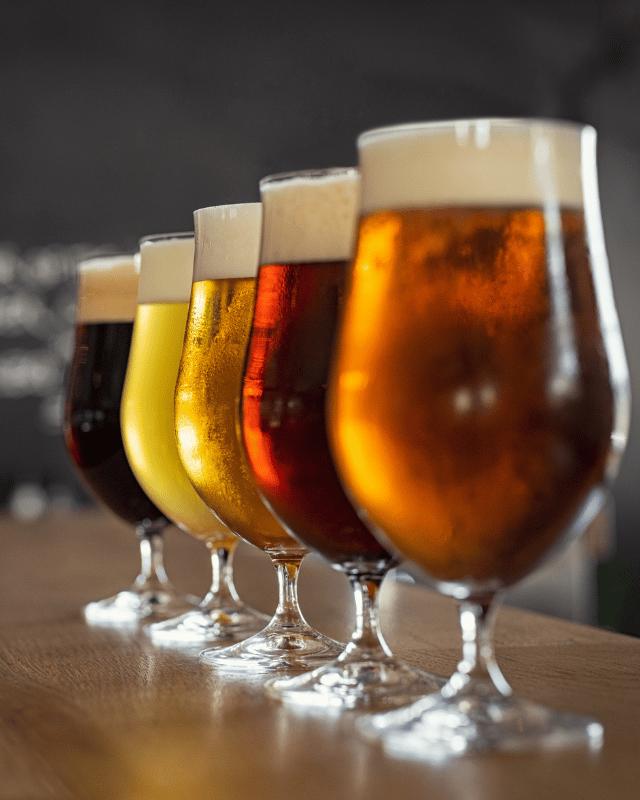 Beer Glasses header