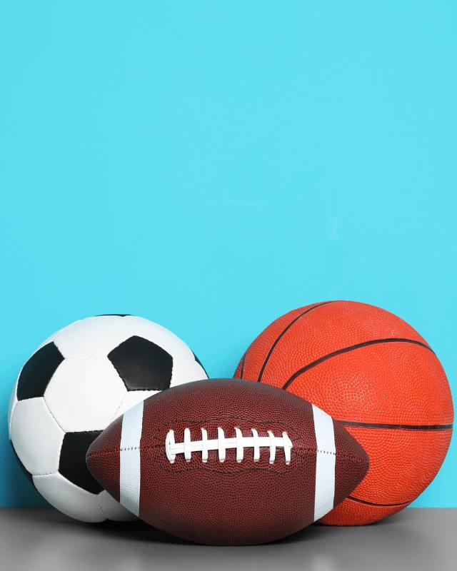 Sports Balls header