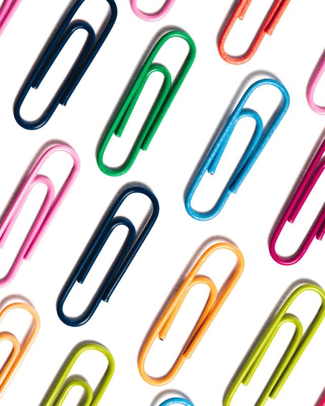 Clips & Stationery header